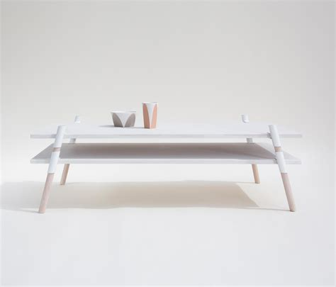 italic 2 tier coffee table bleached alder lounge