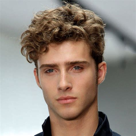 guys hairstyles with curly hair haircuts for men with straight hair