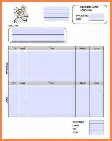 Electrical Invoice Template ? hardhost.info
