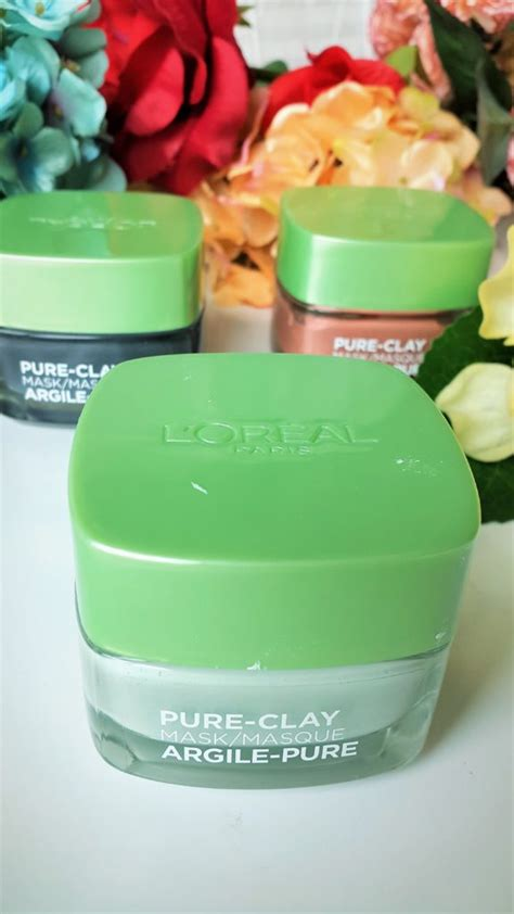 Loreal Clay Mask Purify l oreal clay mask purify and mattify review