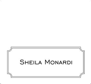 place card template gartner 10 best images of gartner place card template word