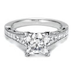cut wedding rings sparkling collections of princess cut wedding