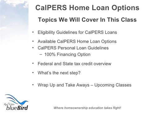 calpers home loan home review
