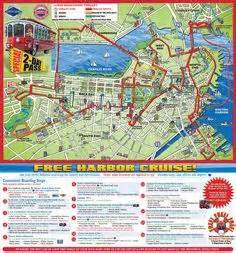 Boston Trolley Map by Viator Boston Hop On Hop Off Trolley Tour Map In Boston