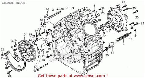 Honda Cx500 1978 Usa Cylinder Block Buy Cylinder Block