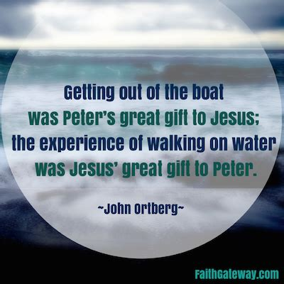 get out of the boat bible study walk on water faithgateway
