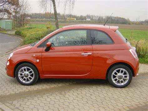 Fiat Orange Fiat 500 Orange