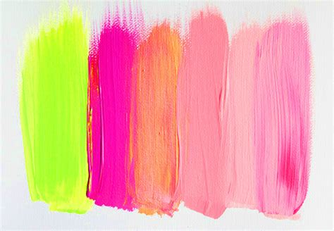 palette painting highlights painting inspiration pink yellow highlights brush fluro