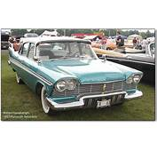 Plymouth Cars 1957 Three Years Ahead