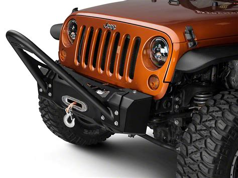 jeep stinger bumper purpose camber fabrications by mbrp jeep wrangler bumper