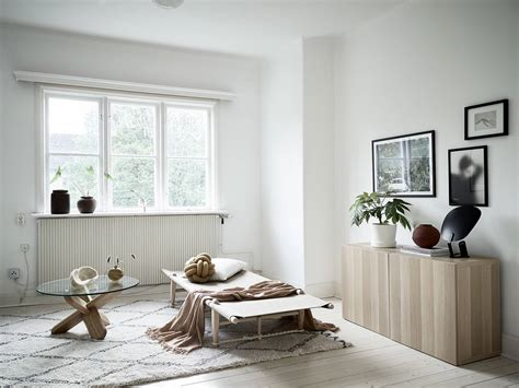 minimal living room  natural colors coco lapine