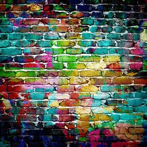 colored walls colorful brick wall wall wallpaper wall