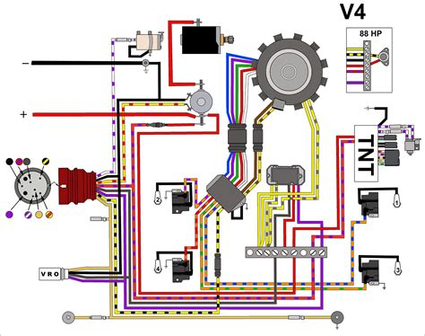 100 hp johnson outboard motor wiring diagram wiring