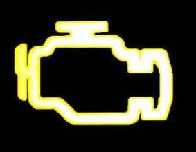engine emissions system warning light
