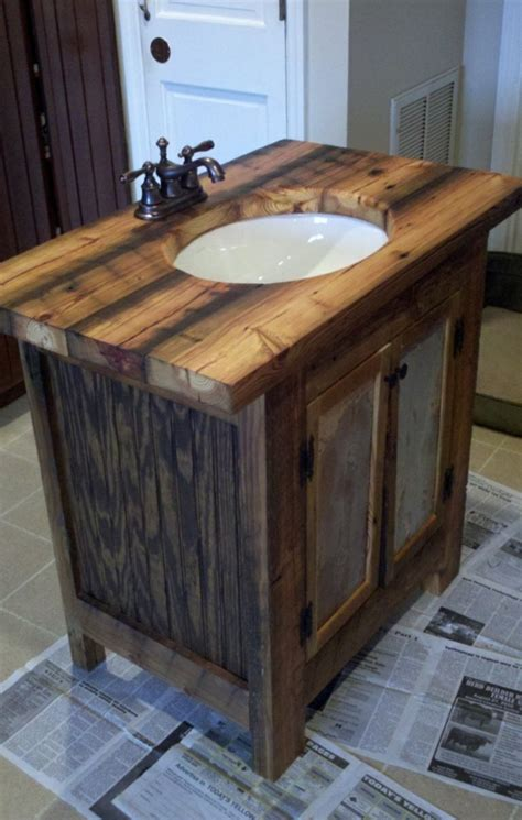 Badezimmer Unterschrank Rustikal by Rustikale Badm 246 Bel Ideen Das Badezimmer Im Landhausstil