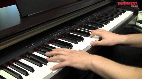 tutorial piano yamaha yamaha ydp 181 youtube