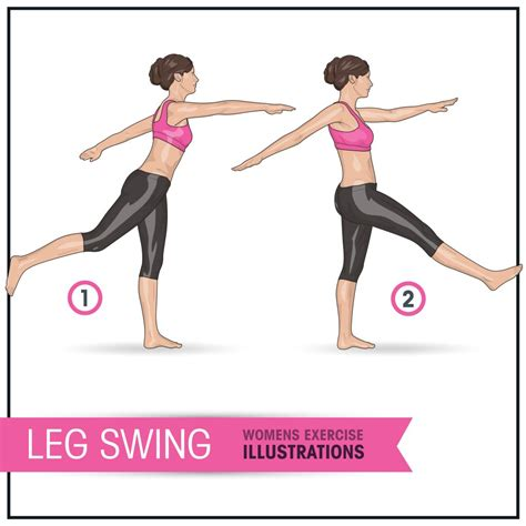 leg swing exercise what s the difference between dynamic and static