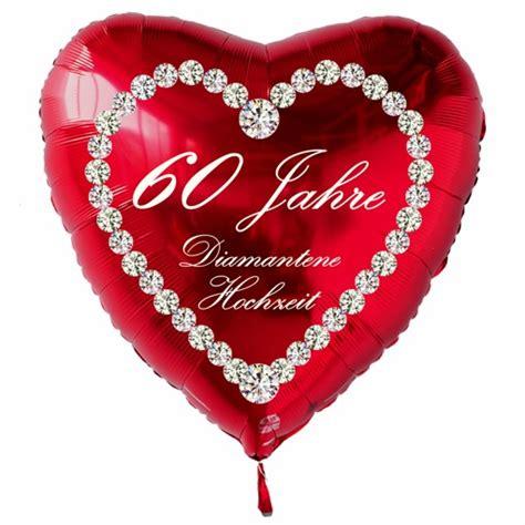 Hochzeit 60 Jahre by Ballonsupermarkt Onlineshop De Roter Herzluftballon Quot 60
