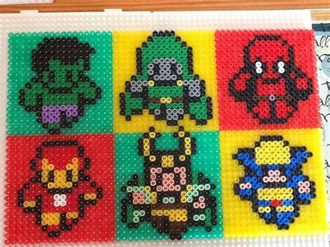 hama marvel 17 best images about perler marvel on perler