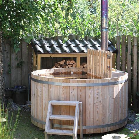 bad tub ideen cerdic houten hottub taiga product in beeld