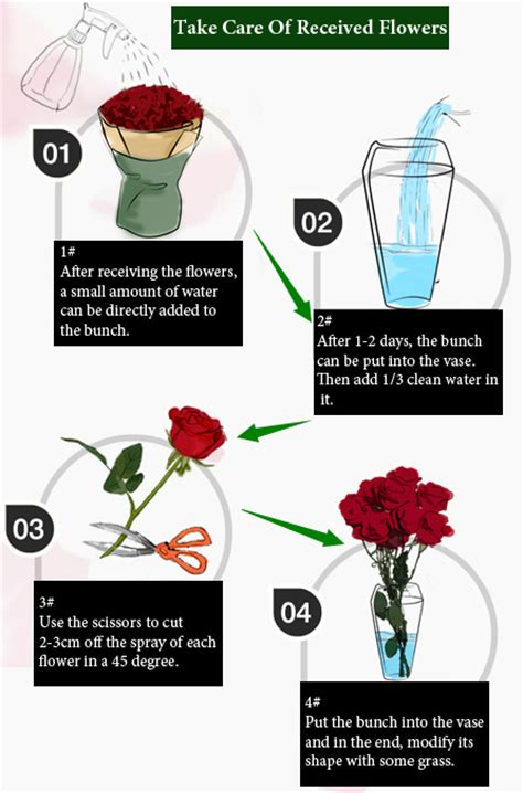 How To Take Care Of Flowers In Vase how to take care of received flowers china flower 214