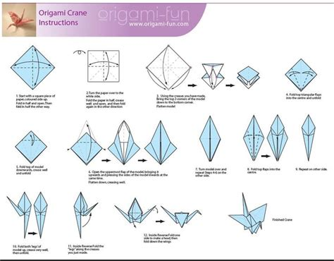How Do I Make An Origami Crane - 17 best images about origami on origami paper