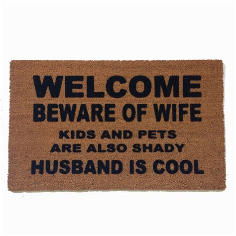 funny welcome mats customizable prehistoric cave painting family doormat