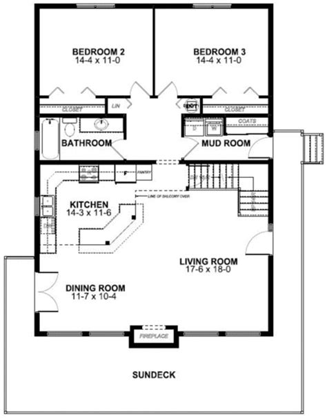 Best 25 Cabin Plans With Loft Ideas On Pinterest 4 Bedroom House With Loft House Plans