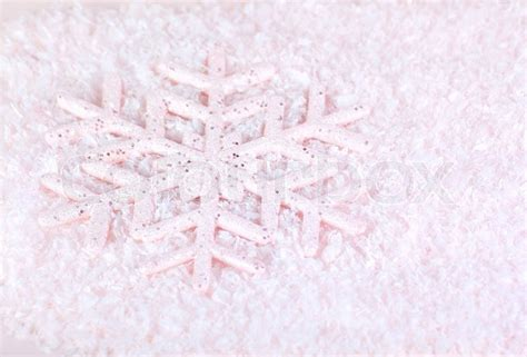 snowflake pink winter holiday background christmas tree