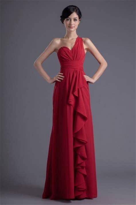Robe Longue Bordeaux Demoiselle D Honneur - robe demoiselle d honneur longue de soir 233 e