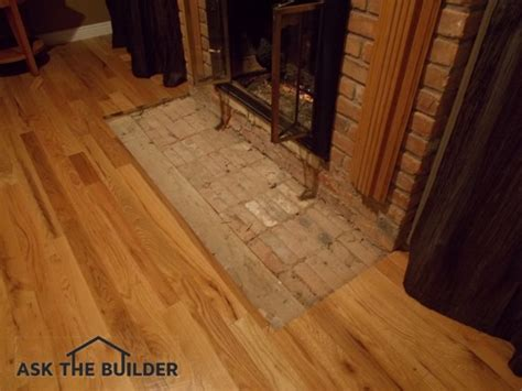 Tile Fireplace Hearth   Ask the Builder