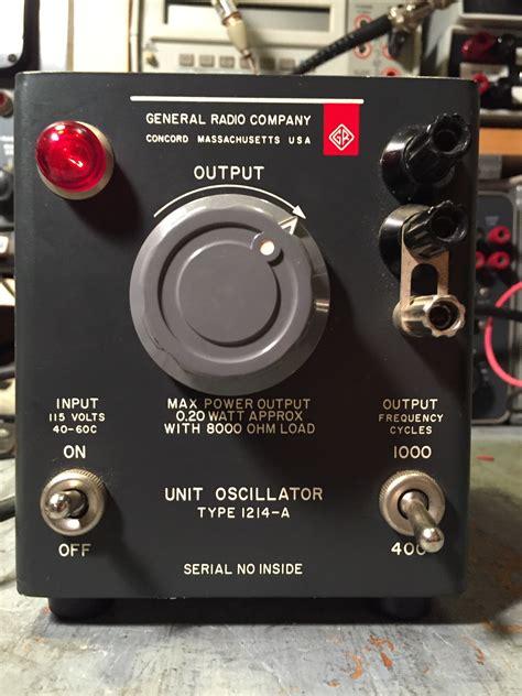 general radio   unit oscillator steves web