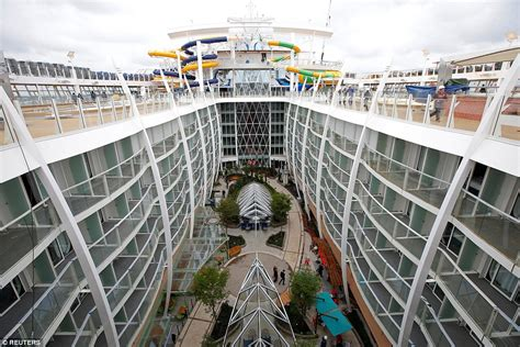 Draw Floor Plans Online by Harmony Of The Seas Makes Titanic Look A Minnow As It