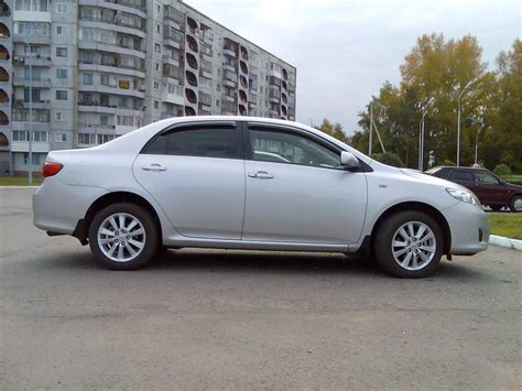What Type Of Does A Toyota Corolla Use Used 2007 Toyota Corolla Photos 1600cc Gasoline Ff