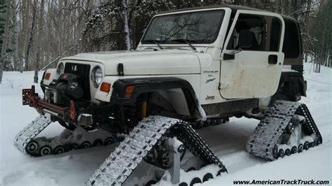 Jeep Snow Tracks Jeep Rubicon Wrangler Laredo Limited Sport Snow Tracks