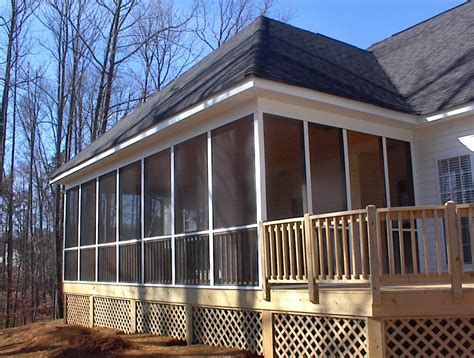 screen porch plans do it yourself charlotte nc designers choice com screen porches screen