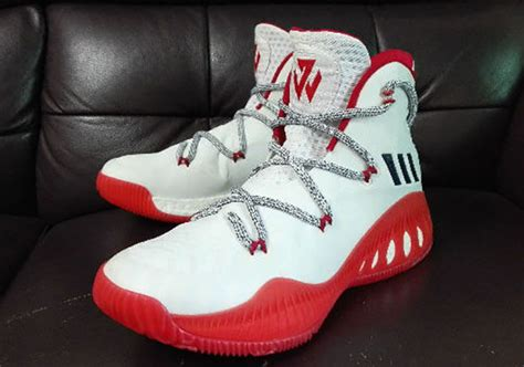adidas john wall adidas crazy explosive j wall 3 white red sneakernews com