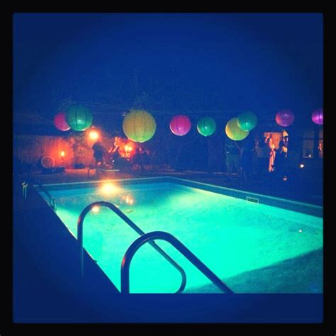 pool party ideas 17 best ideas about glow pool parties on pinterest