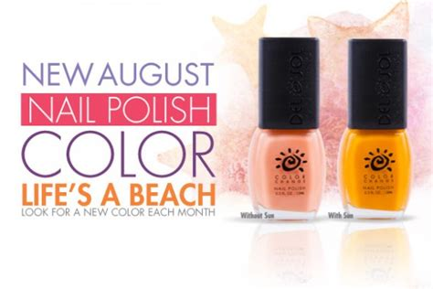 august nail color august s color change nail of the month s a