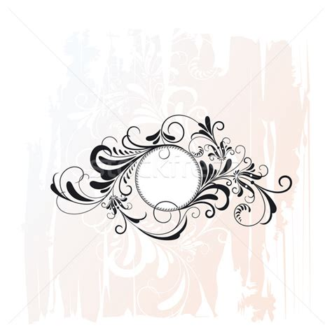 decorative ornaments circle decorative floral ornament vector illustration