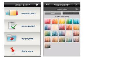 valspar color selector android projectpaint valspar color4u