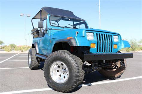 jeep passenger 1993 jeep wrangler yj custom 8 passenger 4 0 liter ho