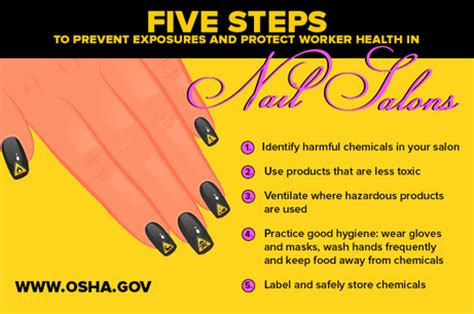 health hazards in nail salons ehs safety news america