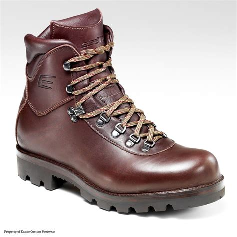 Handmade Walking Boots - handmade esatto custom classic hiker by esatto custom