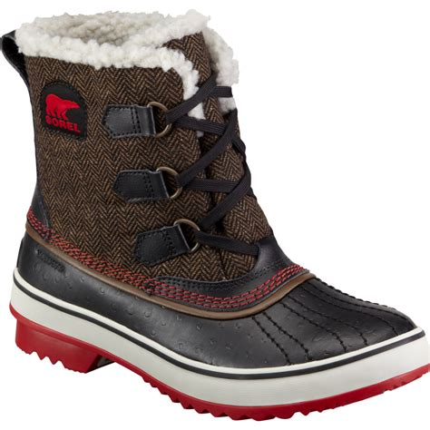 sorel tivoli herringbone boot s