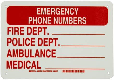 Brady 90495 B 347 Emergency Exit ford motor credit phone number