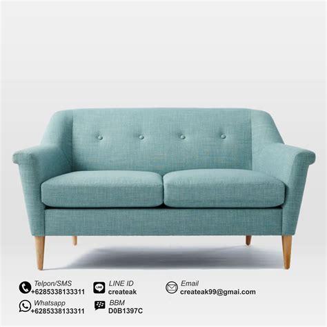 Kursi Sofa Retro Dan Puff 1set harga sofa cantik dan murah savae org