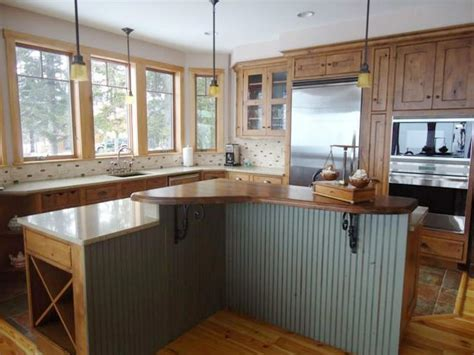 Butcher Block Top Kitchen Island by Wood Kitchen Countertops Hgtv