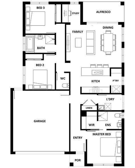 Apsley House Floor Plan by 26052 Apsley 162 Port Augusta Sa House And Land Package
