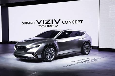2020 Subaru Lineup by Viziv Tourer Concept Breaks Cover Previews 2020 Subaru